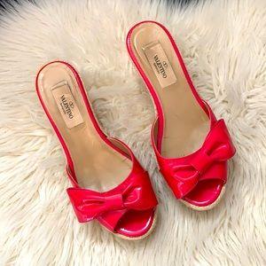 🌺Valentino wedge sandals